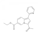 ethyl 3-acetyl-1-(pyridin-2-yl)indolizine-6-carboxylate